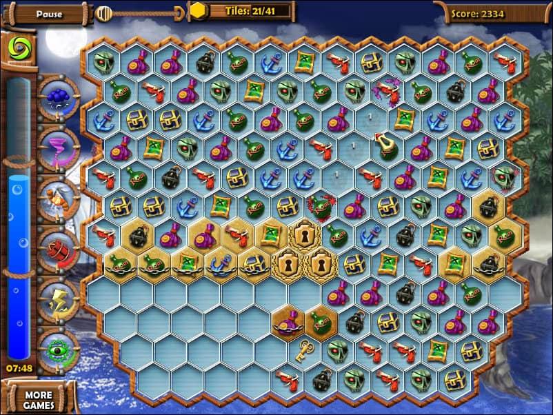 Treasures Of The Mystic Sea Funny Games