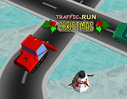 Traffic Run Christmas